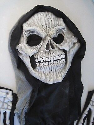 Halloween Adult Costume: Skeleton Head and Hands SPOOKY by Easter Unlimited Inc.