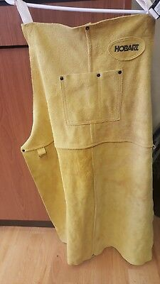 (CT1) Hobart Welding Leather Apron 770548 USED