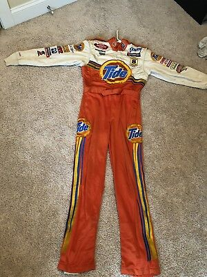 @@ Halloween @@ Genuine Simpson NASCAR Winston Cup Pit Crew Suit Tide Ride
