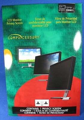 "Compucessory 24"" LCD Monitor Privacy Screen CCS20517"