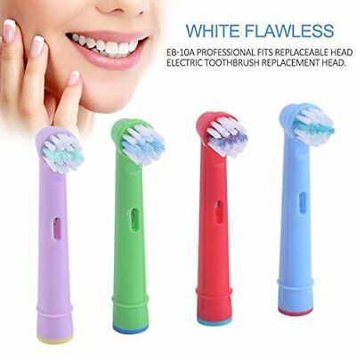 Kids Replacement Toothbrush Heads Compatible with Oral Braun Models [pack of 4]