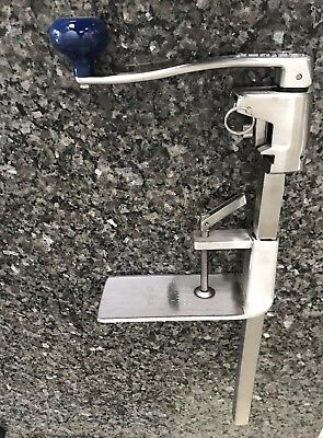 Edlund Can Opener  stainless steel with  base - S-11WB