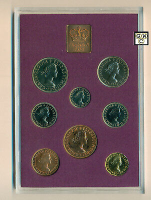1970 Coinage of Great Britain And Northern Ireland Set of 8 Coins (OOAK)