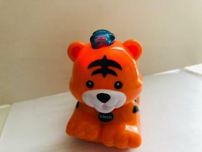 0d622c438ac3 Vtech Go Go Smart Wheels Animals Zoo Tiger Lights Up Plays Sounds Moves