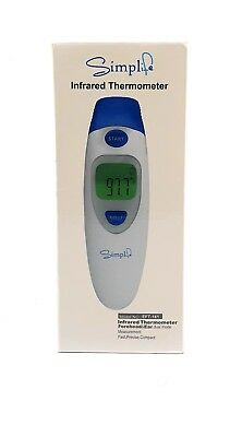 Simplife Digital Infrared Forehead & Ear Thermometers Electronic-Easy To Use!