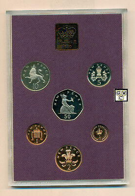 1980 The Coinage of Great Britain & Northern Ireland Proof Set of 6 Coins (OOAK)