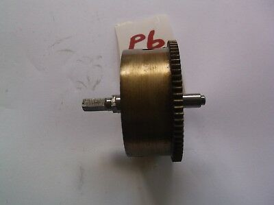 A Mainspring Barrel  From A Perivale 5 Hammer 4X4 Chime  Mantle Clock Ref P6