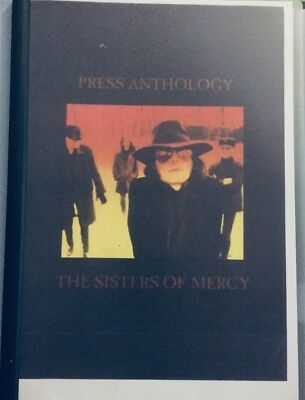 THE SISTERS OF MERCY Press Anthology Scrapbook No LP 80pp Goth Re 1981 - 1985