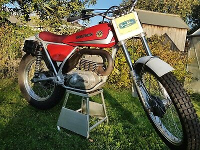Bultaco Sherpa 250 '75 twin shock trials bike matching numbers and ready to ride