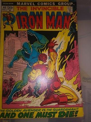Iron Man comic number vol 1 number 45 and 46