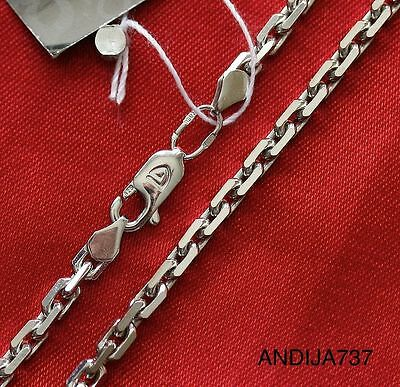21g RUSSIAN ORTHODOX STERLING SILVER 925 DARK CHAIN. ANCHOR. 60cm, 23.6""