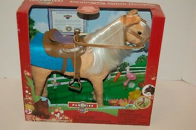 New plush horse by Paradise Horses fit size 12-14 inch dolls never been opened