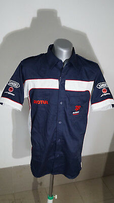 Shirt Work Shirt Output Suzuki Racing Bridgestone Motul Shoei Alpinestars Maglia