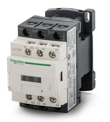 LC1D25M7 Schneider Electric Tesys D LC1D 3 Pole Contactor, 3NO, 25 A, 11 kW,230v