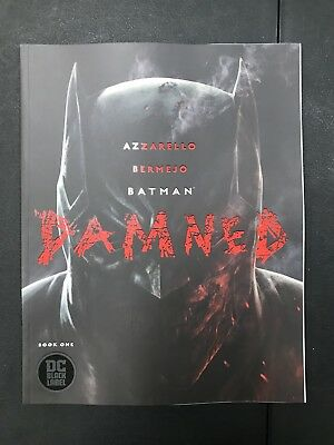Batman Damned #1 Uncensored First Print Near Mint FIRST APPEARANCE OF BATWANG
