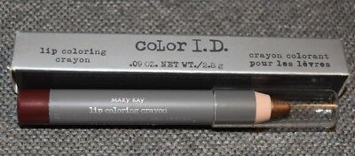 New in Box Mary Kay Color I.D. Lip Coloring Crayon Lot Fickle 6807