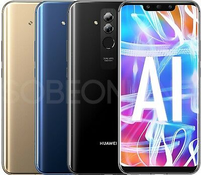 "New Huawei Mate 20 Lite LX3 64GB (Factory Unlocked) GSM 6.3"" International Model"