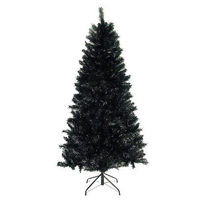 7ft black christmas tree imperial tips artificial tree with metal