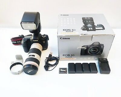 Canon EOS 5D Mark III 22.3MP Digital SLR Camera, shutter 12809