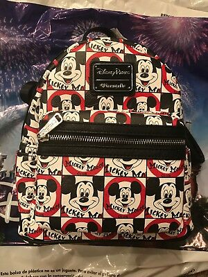 Disney Loungefly Mickey Mouse Club Backpack New In Hand