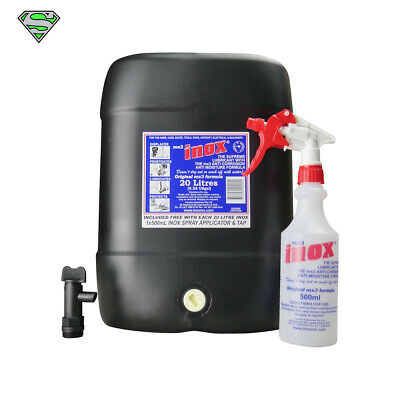 Inox MX3 Super Lubricant 20LT (Free Tap & Bottle)