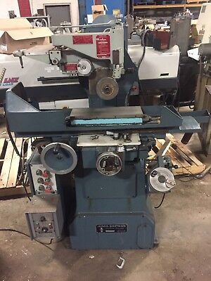 Jones & Shipman 540P 6x18 Automatic Surface Grinder With Diaform Wheel Dresser