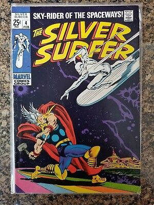 The Silver Surfer #4