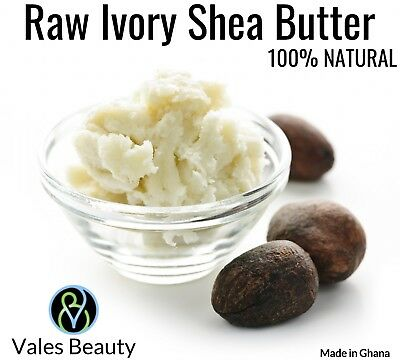 Raw African Shea Butter 5lbs 100% Pure Unrefined Bulk Wholesale