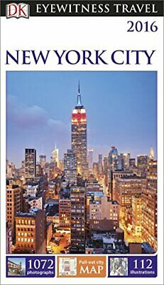 DK Eyewitness Travel Guide New York City by DK Book The Cheap Fast Free Post