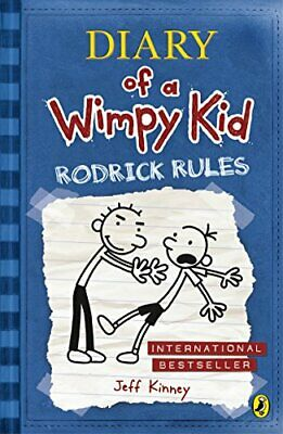 Diary of a Wimpy Kid: Rodrick Rules (Book 2) by Jeff Kinney Paperback Book The