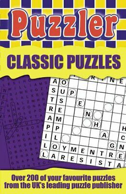Puzzler: Classic Puzzles by Puzzler Paperback Book The Cheap Fast Free Post