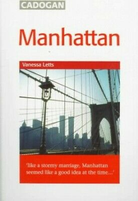 New York: Manhattan (Cadogan City Guides) by Letts, Vanessa Paperback Book The