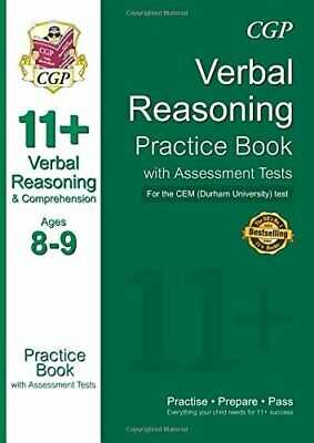 11+ Verbal Reasoning Practice Book with Assessment Tests (Ages 8... by CGP Books