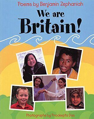 We Are Britain! by Zephaniah, Benjamin Book The Cheap Fast Free Post