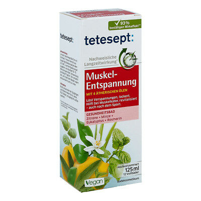 Tetesept Muskel-entspannung Bad 125ml PZN 13476371