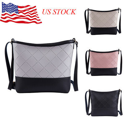 3310fea4be75 Women s Small Crossbody Handbag Quilted Purse Bag with Chain Shoulder Strap