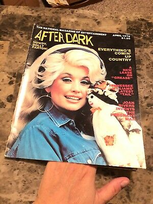 AFTER DARK Magazine APRIL 1978: Dolly Parton, James Brolin, Joan Rivers, Grease