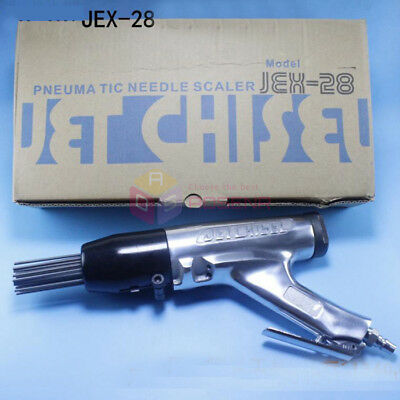 Pneumatic Needle Derusting Gun JEX-28 Rust Removal Air Needle Scaler Jet Chiesel