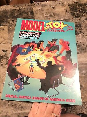 Model And Toy Collector Magazine #24 (1993) Justice League Of America (Vf-)