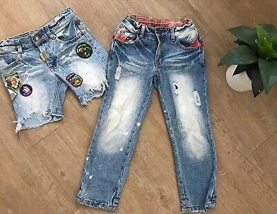 Rock Your Kid Boys Jeans And Shorts Size 4