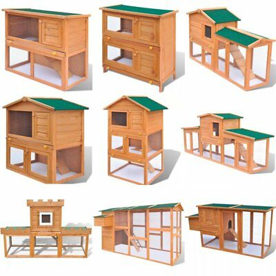 New Rabbit Hutch Guinea Pig Guinea Pig Pet Hutches Cage Pets House Animal Home