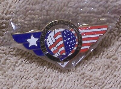Dee Balloon Iii American Printing Usa Balloon Pin