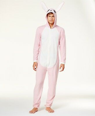 nwt christmas story pink nightmare mens bunny costume union suit pajamas s m l