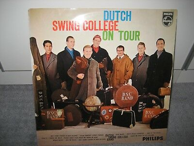"""LP Dutch Swing College Band """"On Tour"""" (Philips)"""