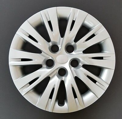 """One New Wheel Cover Hubcap Fits 2012-2014 Toyota Camry 16"""" Silver 10 Split Spoke"""