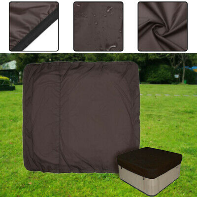 5 Sizes Hot Tub Spa Cover Bag Outdoor Waterproof Dust Protector Square Case