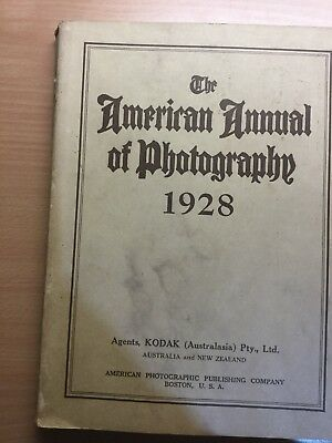 The American Annual Of Photography 1928