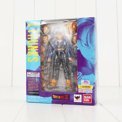 Bandai S.H.Figuarts Dragonball Z Super Saiyan Trunks Action Figure New In Box