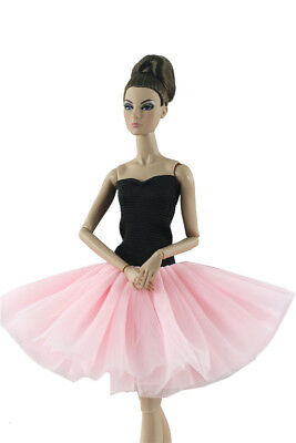 Fashion Handmade Ballet Dress/Clothes/Outfit For Barbie Doll P01