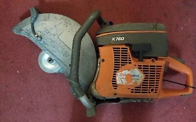 "Husqvarna 14"" K760 Power Cutter Concrete K Saw Gas"